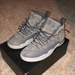 Jordan 12 dark grey